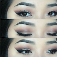 Makeup for Asian eyes. Follow me on my personal Instagram shirleyvang101