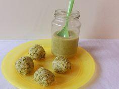 Broccoli-Reisbällchen