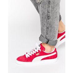Puma Classic Suede Geranium Sneakers