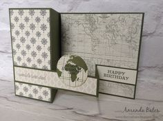 The Craft Spa - Stampin' Up! UK independent demonstrator : You mean the world to me... World's Best Dad...