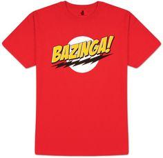 Big Bang Theory - Bazinga! No Face T-Shirt c916de5146b
