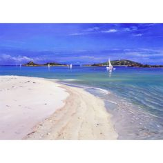 Ready to Anchor, Cooke Porth. Tresco. Ted Dyer Limited Edition Print