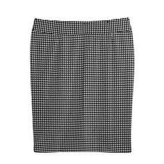 Houndstooth Skirt, $50 from Lane Bryant