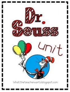 Dr. Seuss Unit