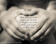 Friendship Quote Print Gift for a friend by OceanDropPhotography, $21.00