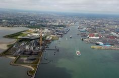 Dublin Port and The Liffey - The Air Corps took these photographs of Dublin by air and they're stunning