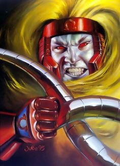 JULIE BELL - Omega Red / Arkady Gregorivich, 1995 - item by comicbookcollecting Superhero Villains, Marvel Villains, Marvel Characters, Evil Villains, Marvel Comics Superheroes, Marvel X, Marvel Heroes, Julie Bell, X Men