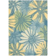 Add some excitement to any surrounding with this magnificent indoor/outdoor rug. This versatile rug is beautiful to look at, soft to walk on, easy to clean by just hosing down and can withstand almost all outdoor conditions.