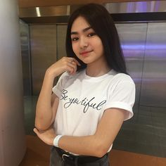 Be You Tiful 💞 thank you for my cool shirt 💕 Greek God Tattoo, I Cool, Cool Stuff, Tiger Hoodie, Filipina Girls, Filipina Beauty, Study Pictures, Cute Girl Photo, Aesthetic Girl