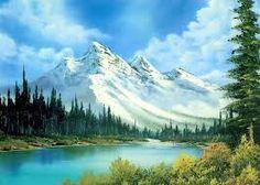 este es un dibujo de relieve con pintura para que se hace un poco realista como la de monte everest