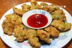 Prawn Fritters/Cucur Udang Recipe