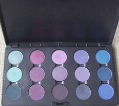 Cool Season Makeup Palettes: Winter colour eyeshadows all Mac Cosmetics