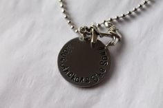 Hand Stamped Love Anchors The Soul by Fivelittleowls on Etsy, $25.00