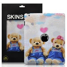 Little Bear Pattern Decal Skin Sticker For The new iPad/iPad 2 - White  PriceUS $5.68