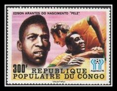 Football Philately: The King of Football - Pele on Postage Stamps