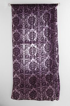 Damask Velvet Burnout Curtain - Urban Outfitters  I really like these ones too!!