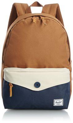 Herschel Daypack Sydney Caramel Navy 13,5 L: Amazon.de: Koffer, Rucksäcke & Taschen