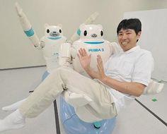 Robot RIBA-II (Riken Japón)