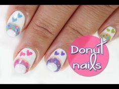 DIY Donut Nails DIY Nails Art