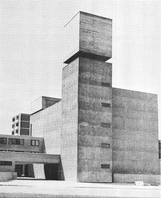 St. Agnes Catholic Church, Berlin, Germany, 1965-66 (Werner Düttmann)