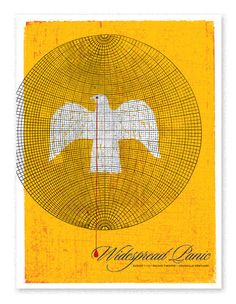 Widespread Panic Birdcage  Show poster for Widespread Panic.