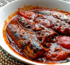 Curry made with canned sardines.