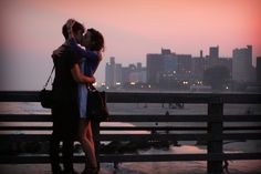 kiss #people #love #landscape by MiquiBrightside, via Flickr