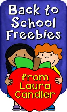 Back to School Freebies and Teaching Resources from Laura Candler