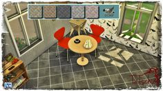 Sims 4 CC's - The Best: Cement Floor Tiles by Tatschu