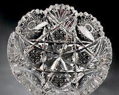 Antique Glassware, Crystal Glassware, Vintage Dishware, Crystal Decor, Glass Collection, Cut Glass, Swarovski Crystals, Antiques, Game Concept
