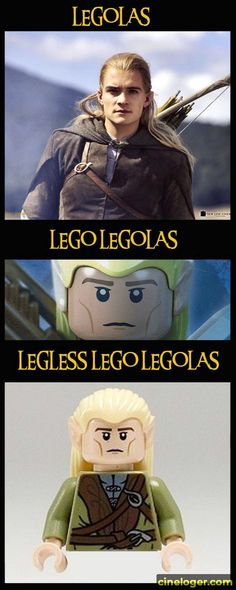 Oh Legolas.there are so many jokes for you! Oh Legolas…there are so many jokes for you! Oh Legolas…there are so many jokes for - Lego Disney, Silly Jokes, Funny Jokes, Lego Poster, Fili Und Kili, Haha, O Hobbit, Lord Of The Rings, Lord Rings