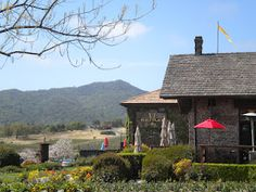 Yountville. The California Wine Country.