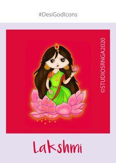 Sweet Drawings, Cute Little Drawings, Cool Art Drawings, Different Art Styles, Princess Drawings, Krishna Art, Indian Gods, Gods And Goddesses, Tribal Art