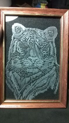 My work of Glass Engraving