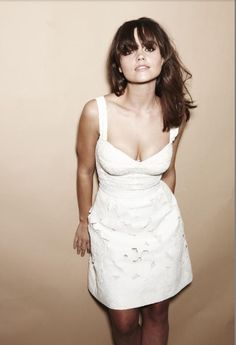 The gorgeous Jenna-Louise Coleman