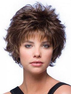Best Hairstyles For Women Over 50 2015 short hairstyles for women over 50 fashion blog Plus Size Short Hairstyles For Women Over 50 Curly Mixed Layered Short Capless Wig Short