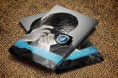 Modern Photographer Business Card by graphicon on Creative Market