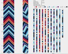 15 around tubular bead crochet rope pattern Loom Crochet, Bead Crochet Patterns, Bead Crochet Rope, Crochet Bracelet, Beaded Jewelry Patterns, Crochet Designs, Beading Patterns, Beaded Crochet, Seed Beads
