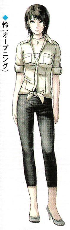 Fatal Frame 3 Rei Concept Art