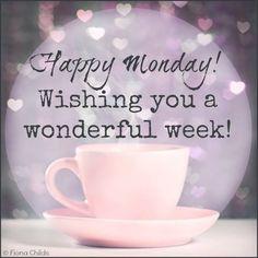 ¡#Lunes! ¡Qué tengáis muy buena semana! #Monday