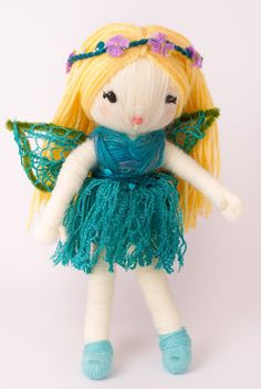 """The Fairy from """"Yarn Whirled: Fairy Tales, Fables, and Folklore""""."""