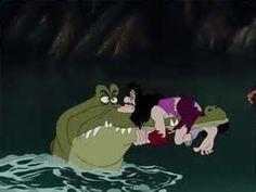 *CROCODILE & CAPTAIN HOOK ~ Peter Pan, 1953