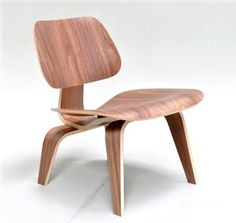 Charles Eames 1907-1978. LCW Plywood Chair