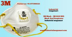 Buy online 3M 8210 N95 safety mask by industrial megamart company. Online 3M N95 mask designed to provide comfortable, reliable, respiratory protection against anti-polluted air. Industrial megamart is an authorised dealer of all category of the 3M mask products supplier. 3M 8210 N95 safety mask helps protect you from coronavirus or bacteria, polluted air, dust and micro bacteria. 3M N95 mask can filter approximately 95 percent of harmful air particles from entering your body via nose or…