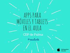 Presentación usada en el curso del CEP de Palma. Formación por Rosa Liarte.