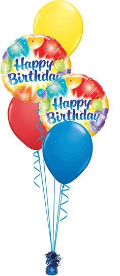 Free harley davidson e cards harley birthday blingee - Happy birthday balloon images hd ...