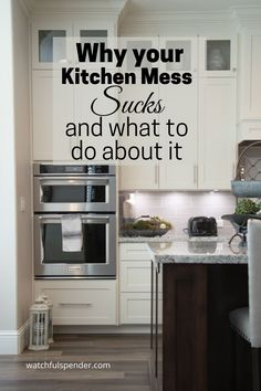 You don't need stress in the kitchen.  Here's how to stop it.  #kitchenstress  #kitchen  #stressfreetips