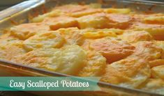 While this scalloped recipe may take a little bit of prep work, it's worth the wait and will become a regular side dish on your evening table.