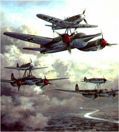 Bf-109 Mistel. http://passion-aviation.tumblr.com/post/106516465475/hanspanzer-bf-109-mistel