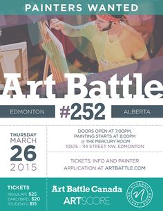 Art Battle 252 – Edmonton
